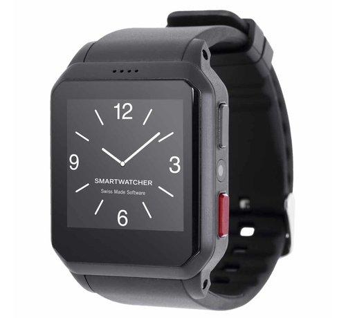 SmartWatcher Noodoproep Horloge - Motion zwart