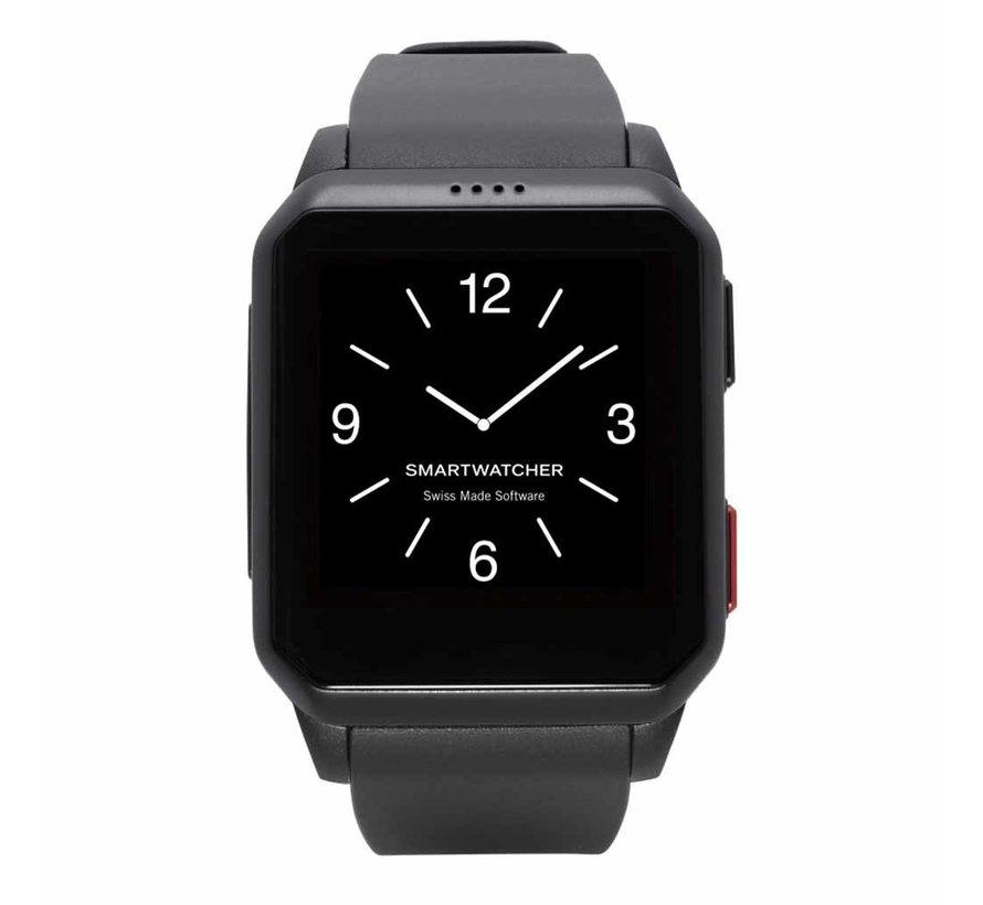 Noodoproep Horloge - Motion zwart