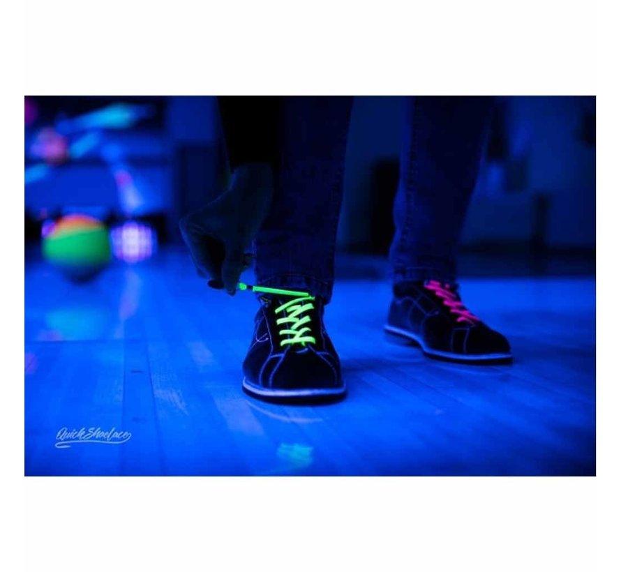 Elastische schoenveters neon