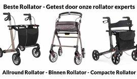 Beste Rollator  - Getest door onze Rollator Experts