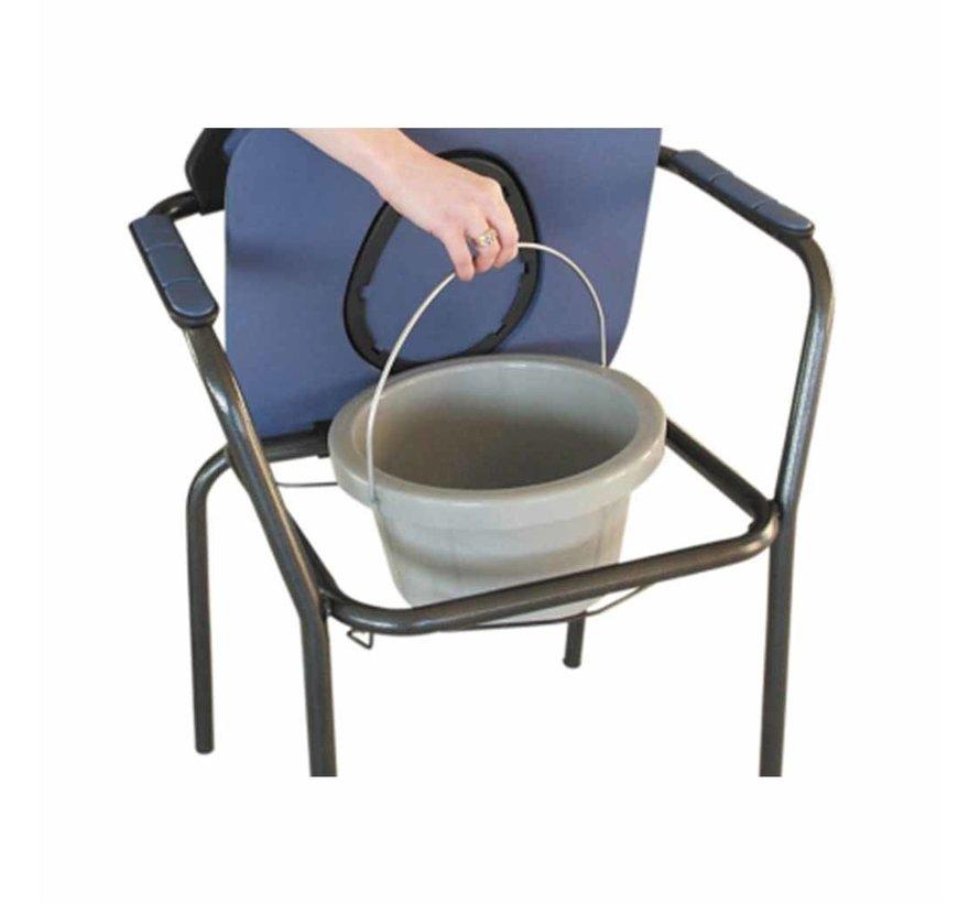 Toiletstoel zithoogte 48 cm