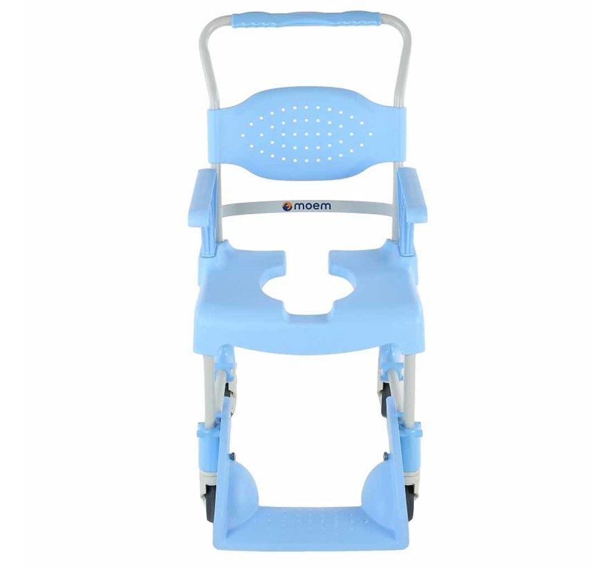 Mobiele Douche- en Toiletstoel