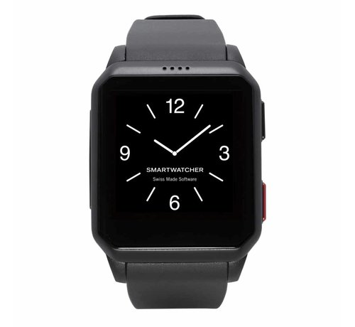 SmartWatcher Noodoproep Horloge - Motion zwart (Buitenkansje)