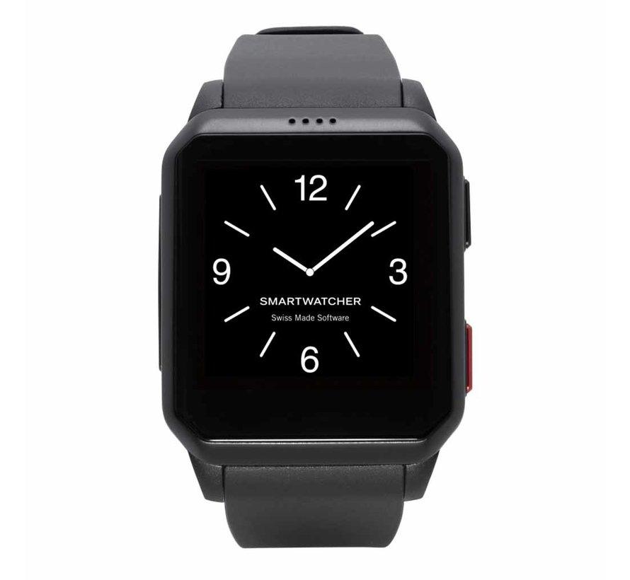 Noodoproep Horloge - Motion zwart (Buitenkansje)