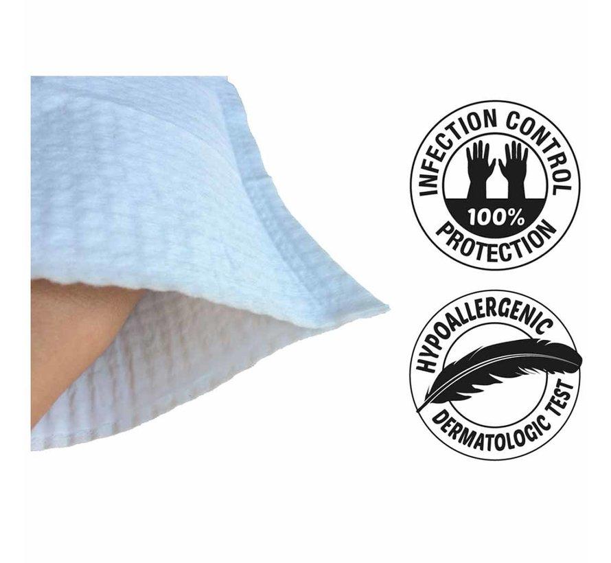 Vochtige washandjes met beschermlaag (12 stuks)