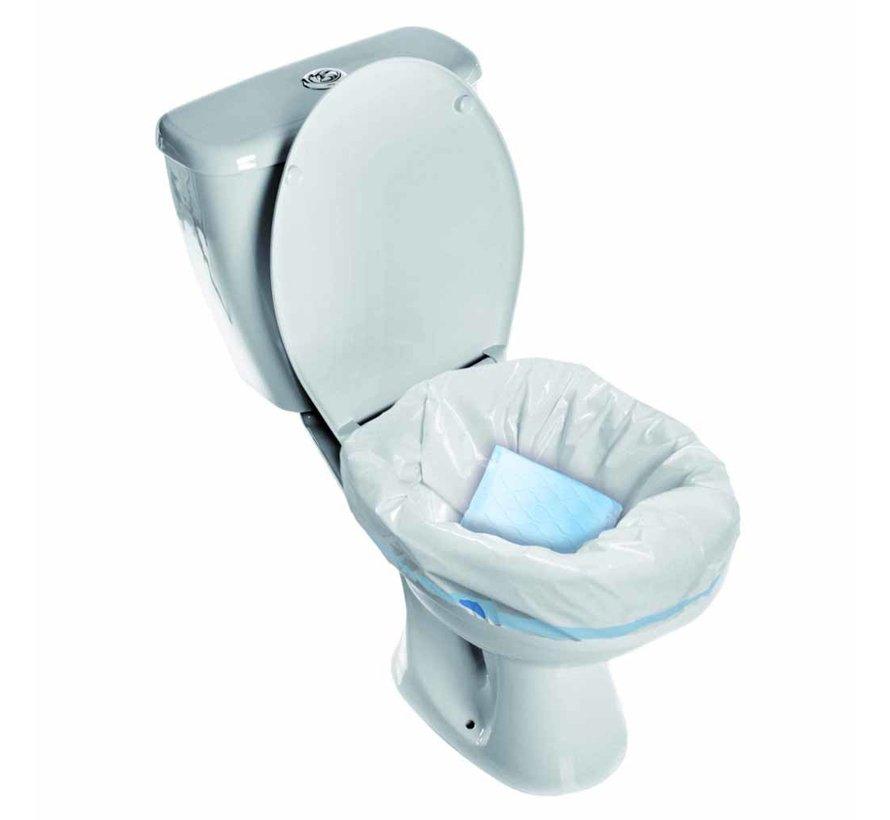 Hygiënische opvangzakken voor toilet