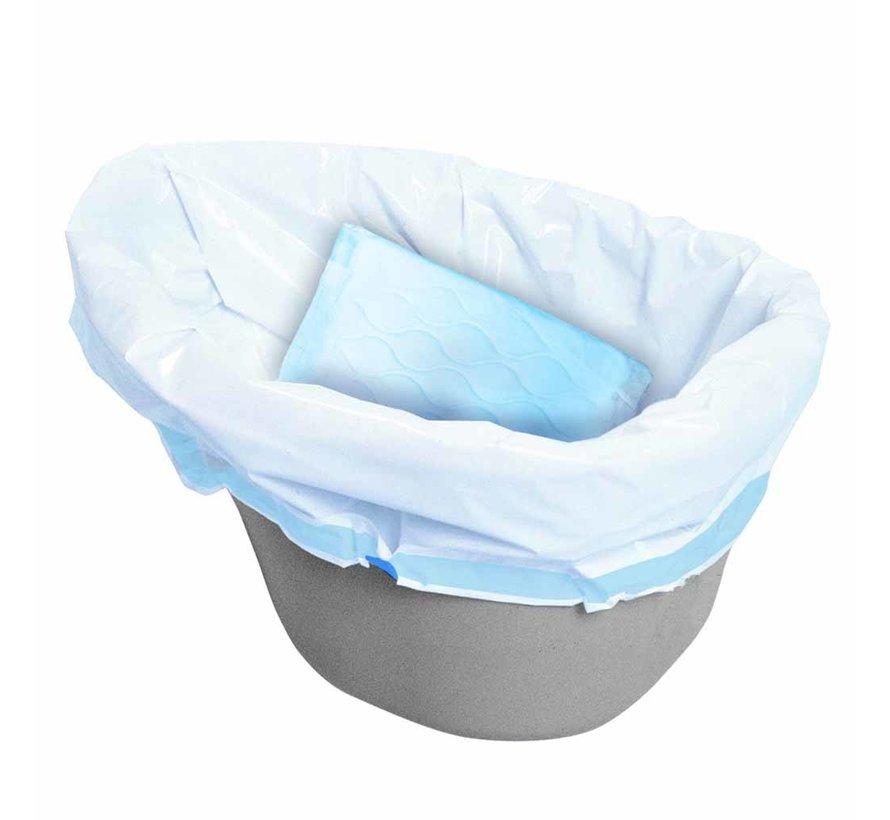 Hygiënische opvangzakken voor toiletemmer Postoel