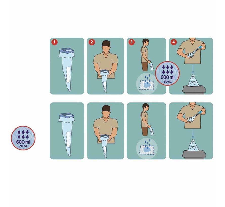 Hygiënische opvangzakken voor Urine