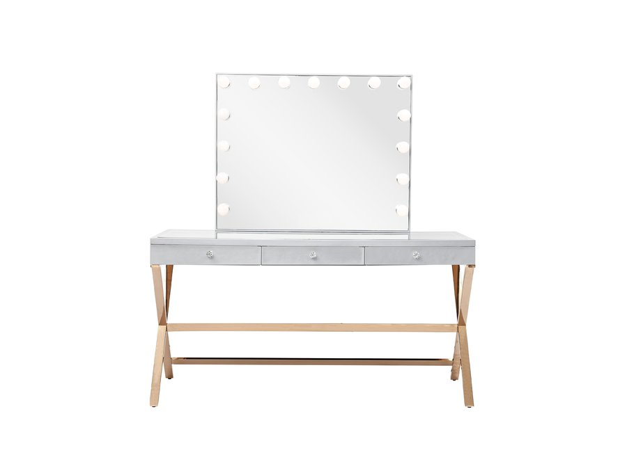 BRIGHT BEAUTY VANITY STATION  - GOLD