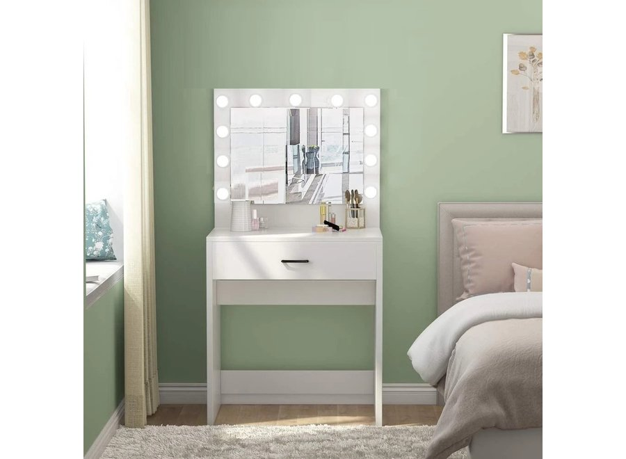 BRIGHT BEAUTY VANITY STATION MINI - WHITE