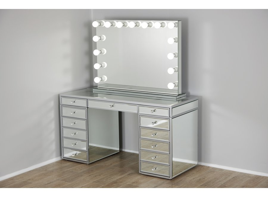 BRIGHT BEAUTY VANITY STATION CLASSIC MIRRORED