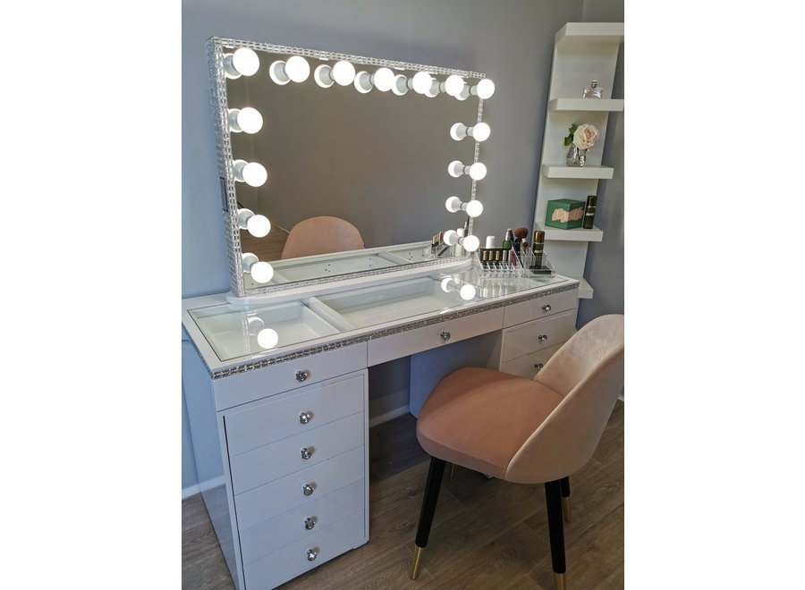 BRIGHT BEAUTY VANITY STATION CLASSIC CRYSTAL