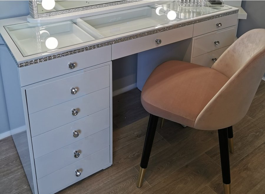 BRIGHT BEAUTY DRESSING TABLE CLASSIC - CRYSTAL