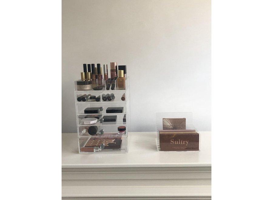 Porte-palette organisateur de maquillage - Acrylique