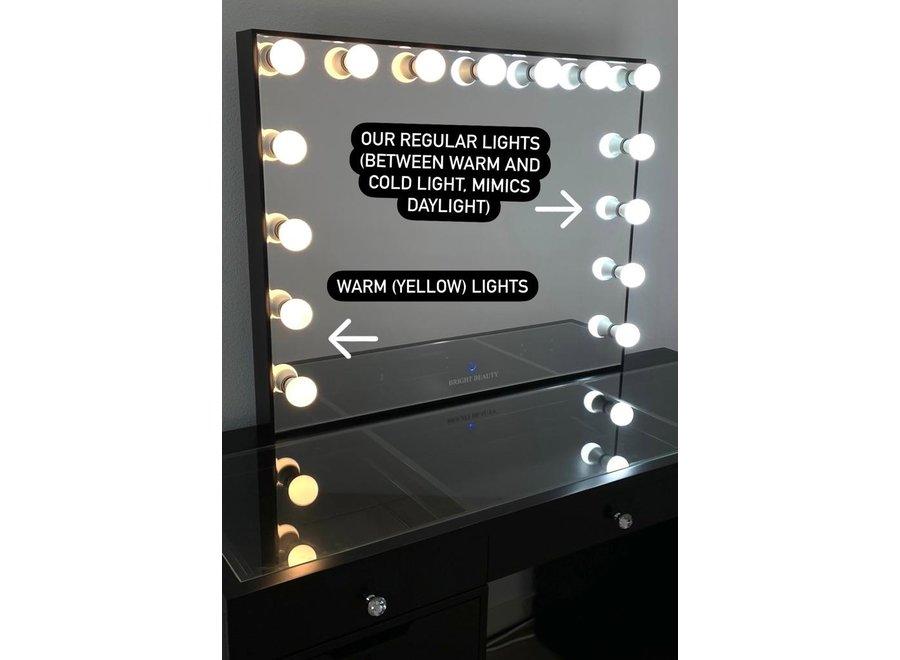 BRIGHT BEAUTY 15 LIGHT BULBS 3000-4000K