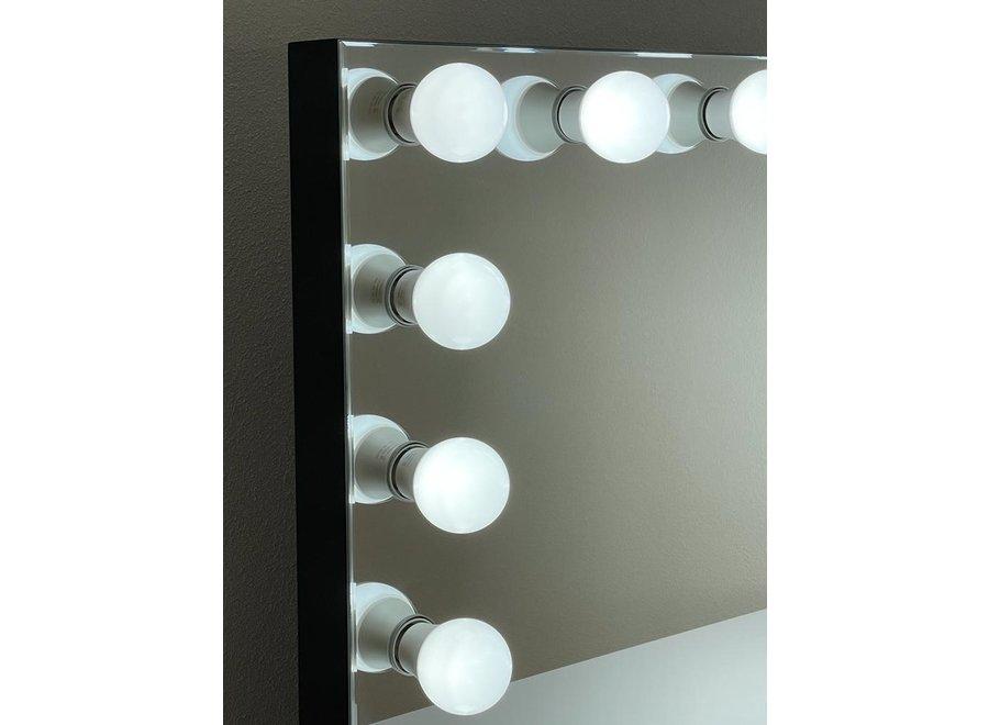 BRIGHT BEAUTY ANASTASIA - hollywood spiegel - make up spiegel - zwart