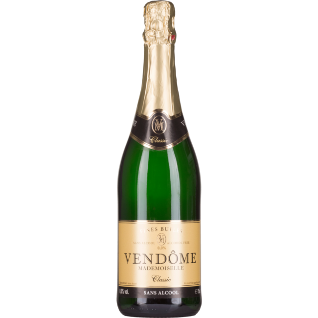Vendôme fine bulles, sparkling alcohol free, bio