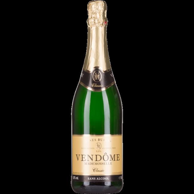 Vendôme 'Madamoiselle' Blanc,  sparkling alcohol free, bio