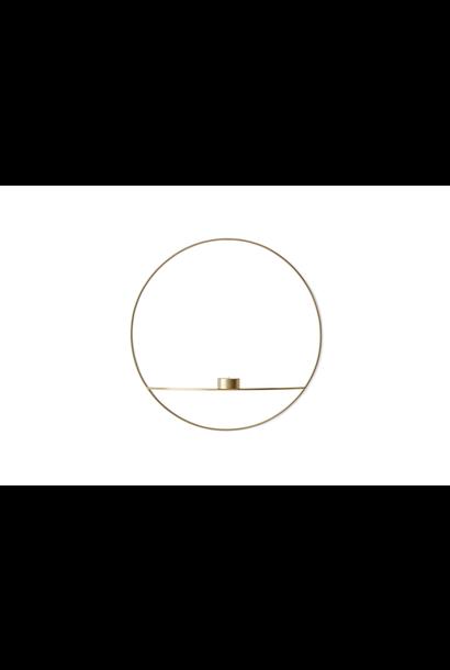 POV Tealight Candleholder - Large - Brass
