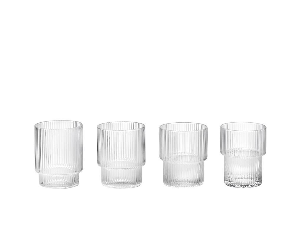 Ripple Glass - set of 4-1