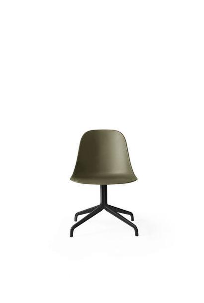 Harbour Swivel Side Chair - Black Powder Coated Aluminium (meerdere kleuren)