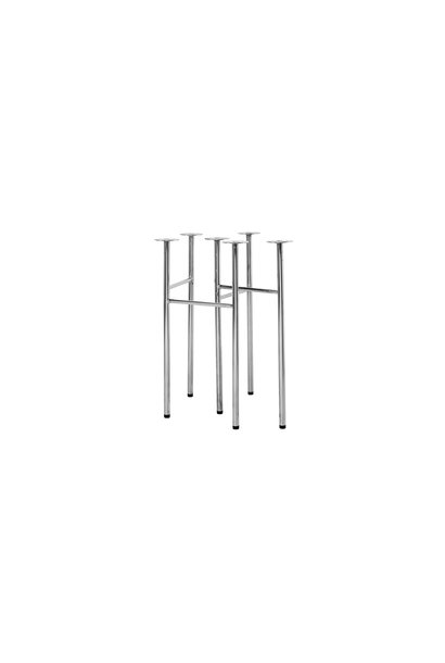 Mingle Table Legs W48 Chrome