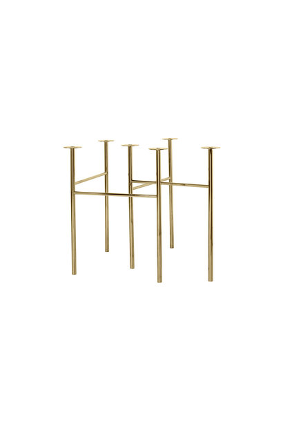 Mingle Table Legs W68 Brass