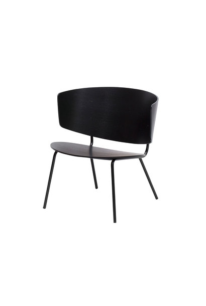 Herman Lounge Chair - Black