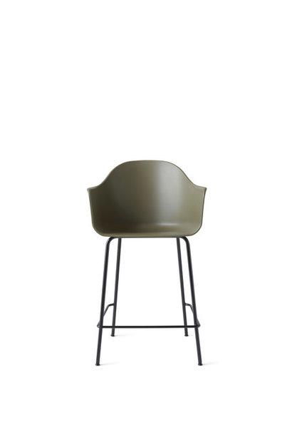 Harbour Counter Chair - Black Steel (meerdere kleuren)