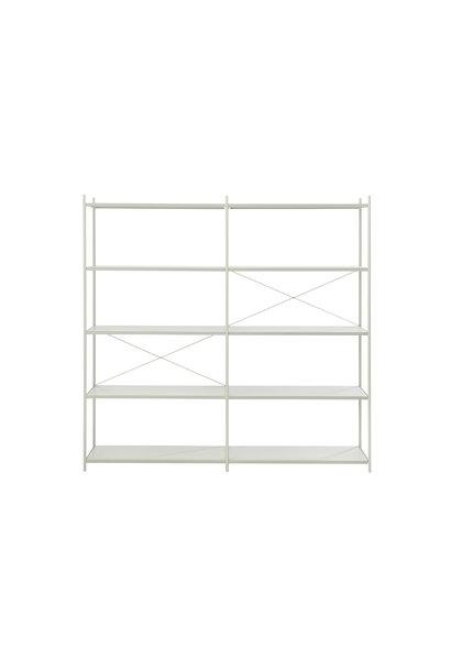 Punctual Shelving System 2x5
