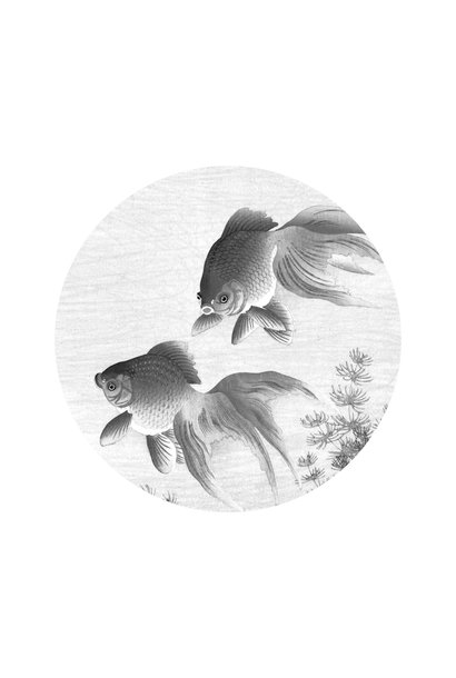 Behangcirkel Goldfish - Small