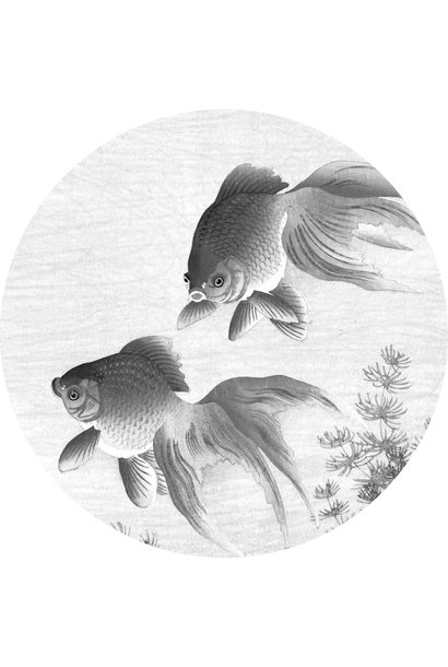 Behangcirkel Goldfish - Large
