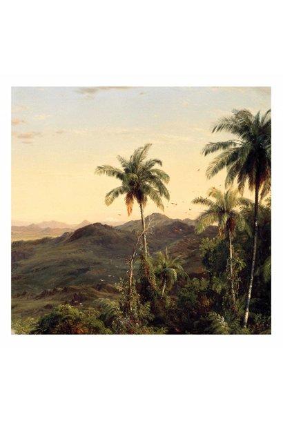 Fotobehang Golden Age Landscapes 3 - 292.2 x 280