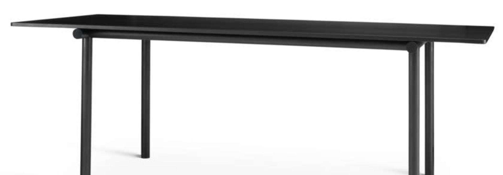 Tubby Tube Table - Black Frame 200 x 90 cm.