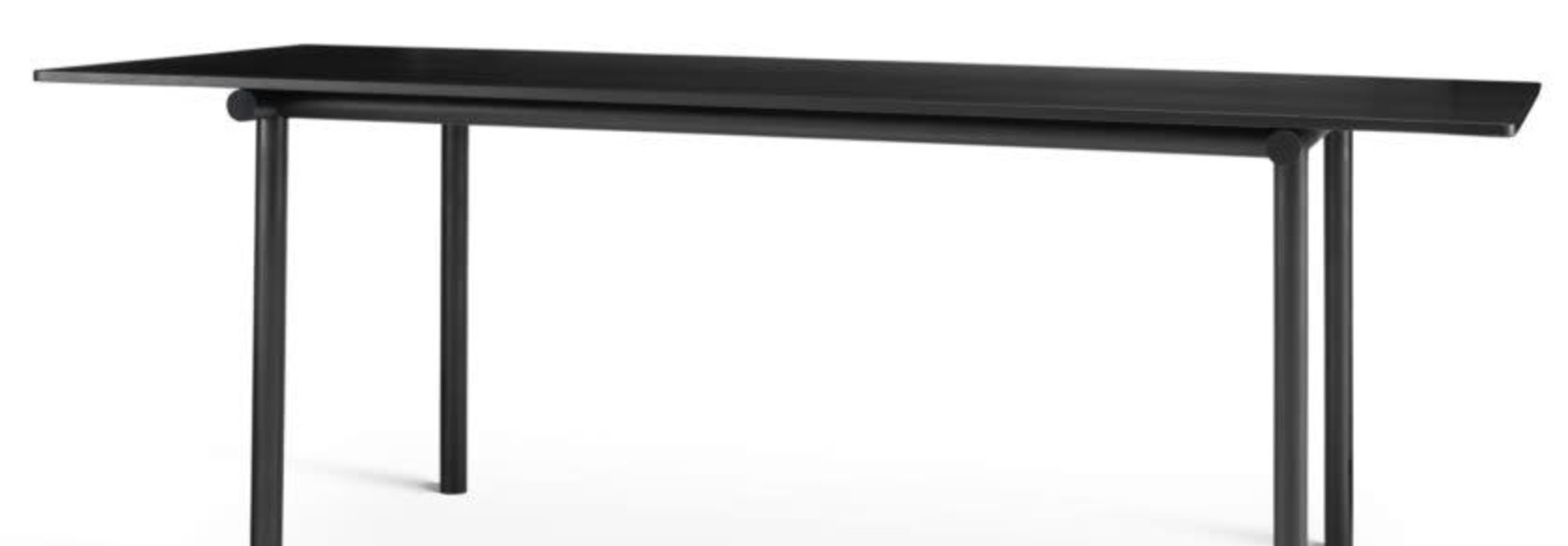 Tubby Tube Table - Black Frame 270 x 90 cm.