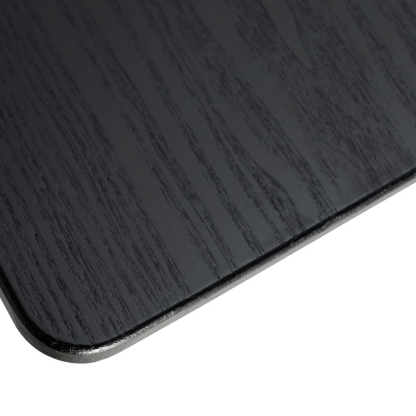 Tubby Tube Table - Black Frame 200 x 90 cm.-2