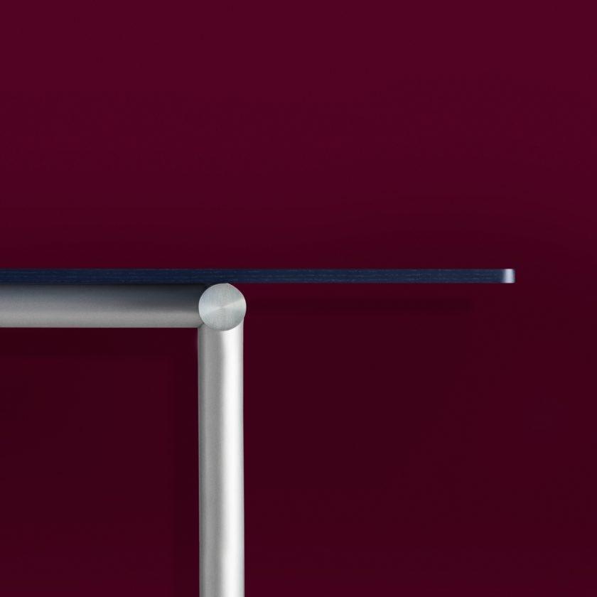 Tubby Tube Table - Alu Frame 270 x 90 cm.-5