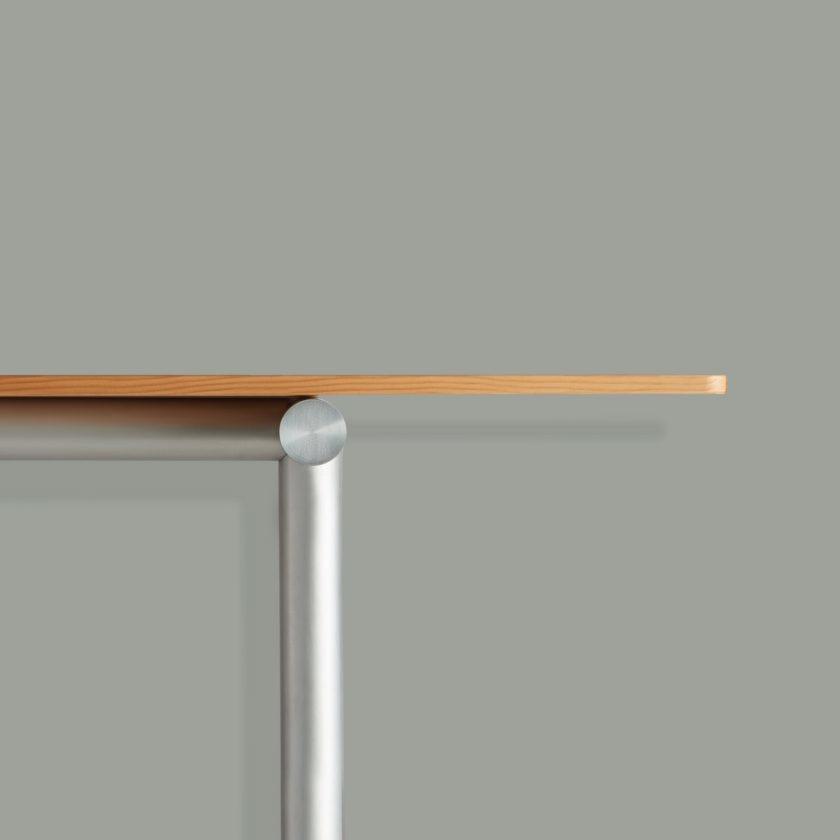 Tubby Tube Table - Alu Frame 240 x 90 cm.-7