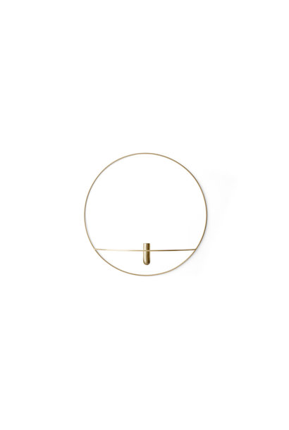 POV Circle Vase - Large - Brass