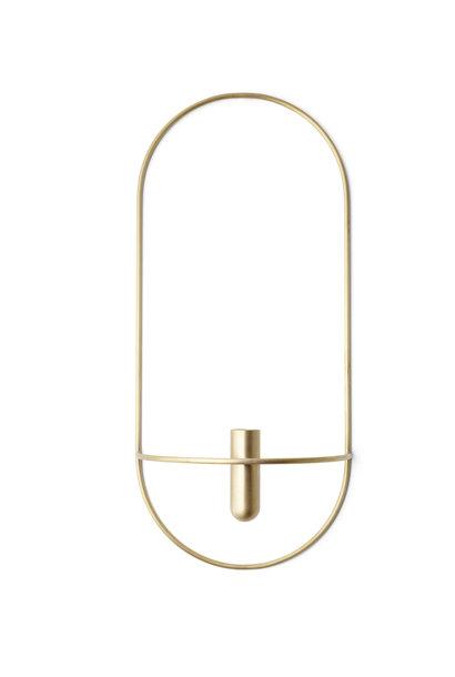 POV Oval Candleholder - Brass