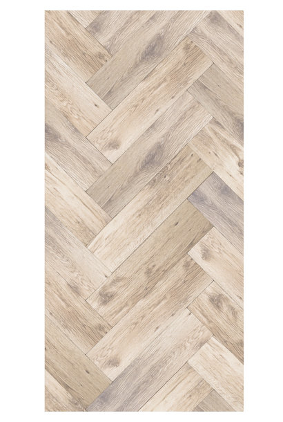 Behang Oak Herringbone, Medium - 97.4 x 280