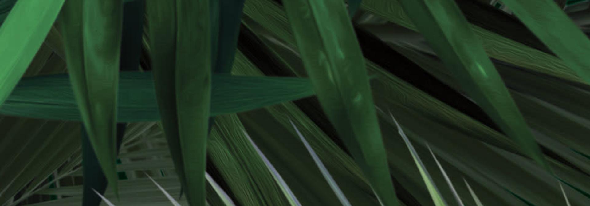 Behang Palm - 97.4 x 280