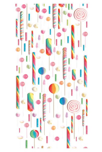 Behang Lollies - 146.1 x 280