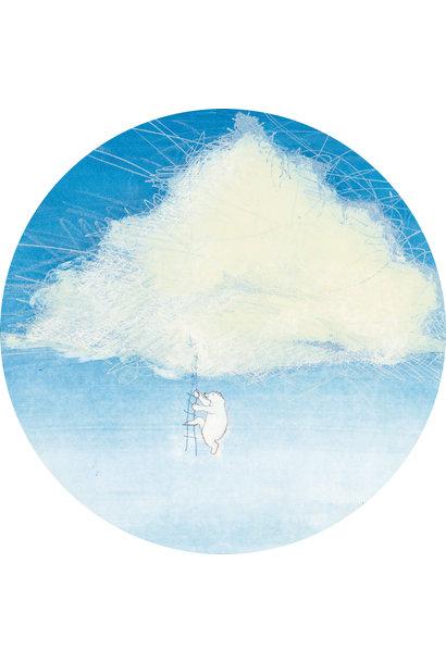 Behangcirkel Climbing the Clouds - ø 190