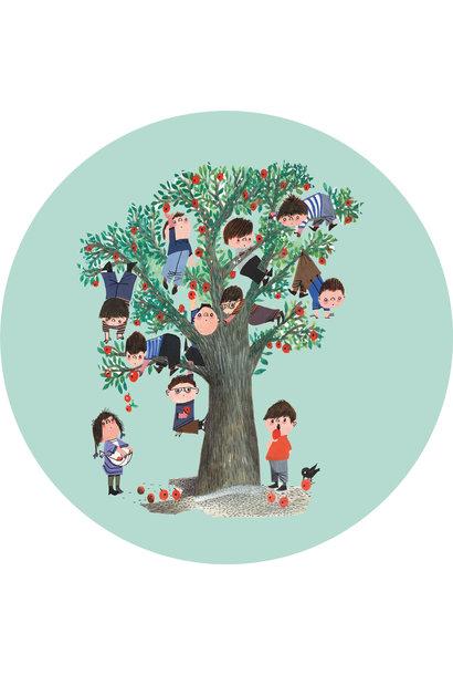 Behangcirkel Apple Tree - ø 190