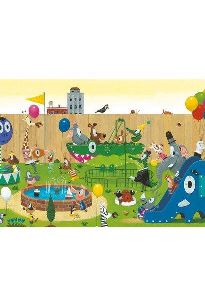 Fotobehang Playground - 389.6 x 280