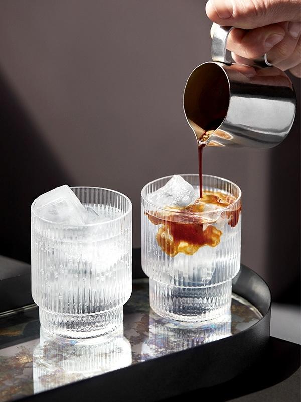 Ripple Glass - set of 4-4