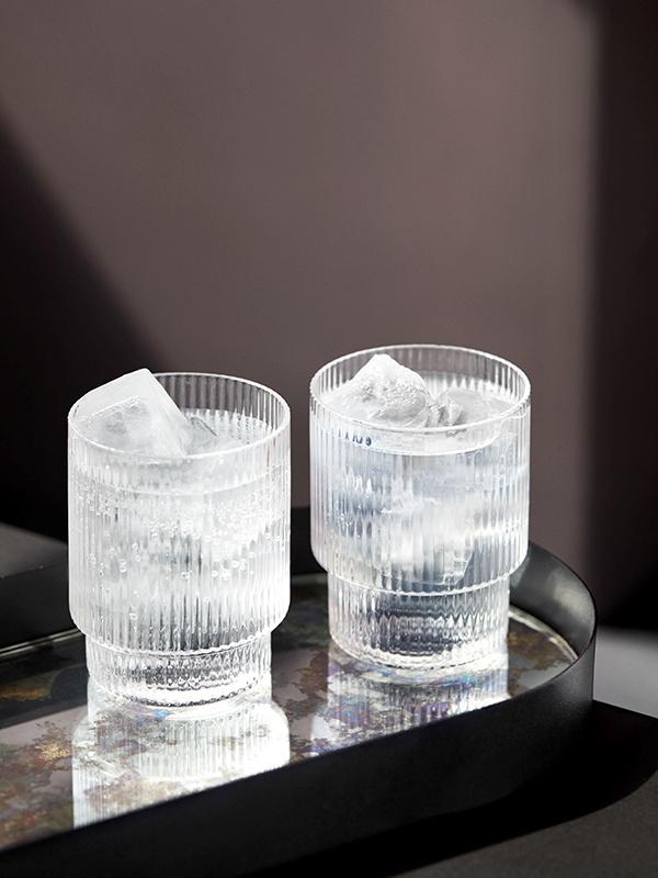 Ripple Glass - set of 4-5