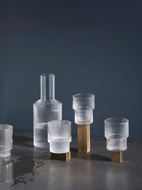 Ripple Glass - set of 4-6