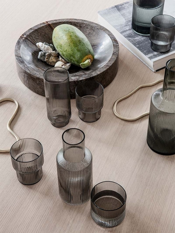 Ripple Glass - set of 4-3